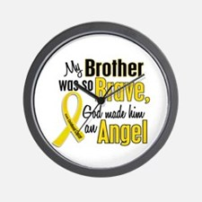 Angel 1 BROTHER Child Cancer Wall Clock