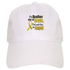 Angel 1 BROTHER Child Cancer Baseball Cap