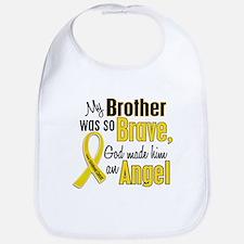 Angel 1 BROTHER Child Cancer Bib