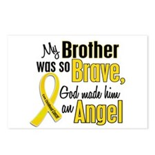 Angel 1 BROTHER Child Cancer Postcards (Package of