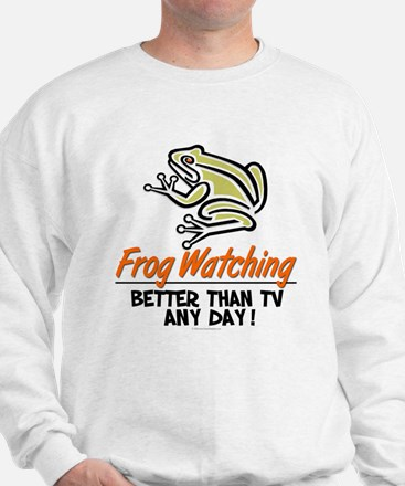 Frog Watching Sweatshirt
