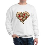 Pizza Heart Sweatshirt