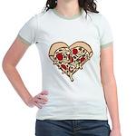Pizza Heart Jr. Ringer T-Shirt