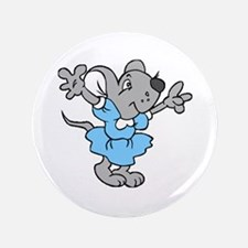 """Missy Mouse 3.5"""" Button (100 pack)"""