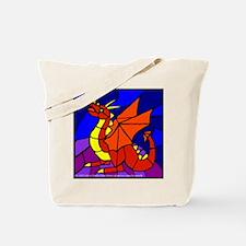 Wyvern Dragon Rock Tote Bag