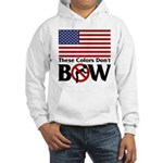 No Bow Hooded Sweatshirt