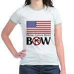 No Bow Jr. Ringer T-Shirt