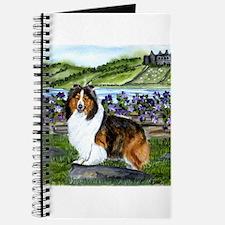 Shetland Sheepdog Sable Journal