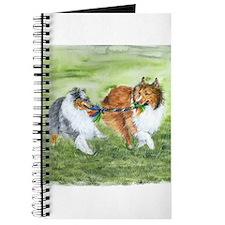 Shetland Sheepdogs At Play Journal