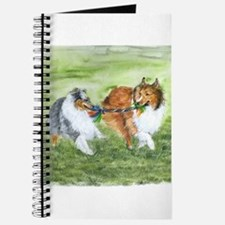 Shetland Sheepdogs At Play Journal