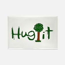 Hug It (Trees) Rectangle Magnet (100 pack)