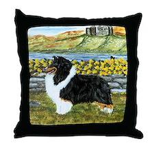 Shetland Sheepdog Tri Color Throw Pillow