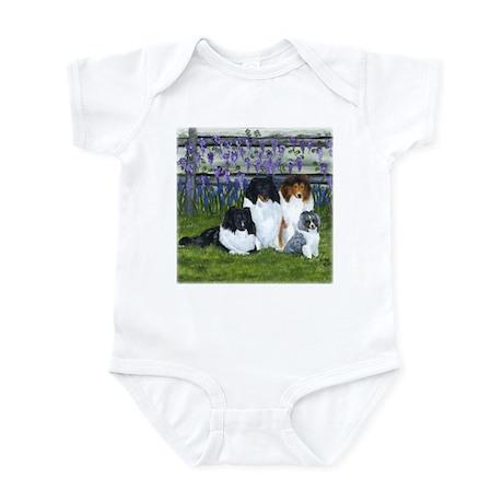 Shetland Sheepdog Family Infant Bodysuit