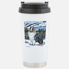 Shetland Sheepdog Blue Merle Travel Mug