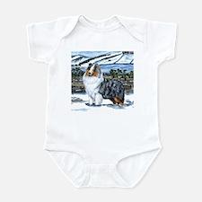 Shetland Sheepdog Blue Merle Onesie