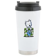 09 Earth Day Westie Travel Mug