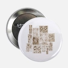 """Animal Tracks Collage 2.25"""" Button (10 pack)"""