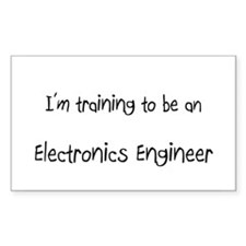I'm Training To Be An Electronics Engineer Decal