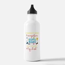 Cute Been Water Bottle