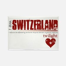 Twilight Switzerland Rectangle Magnet