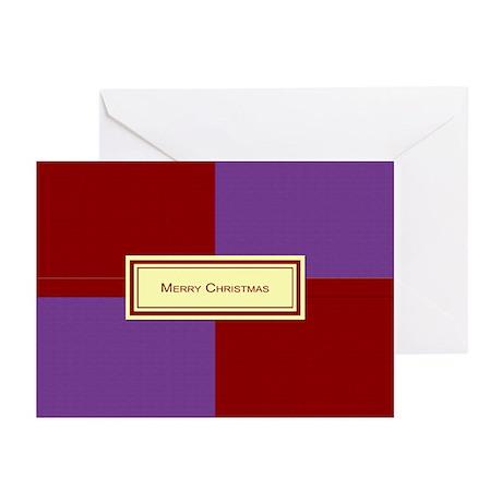 Merry Christmas PR Greeting Cards (Pk of 10)