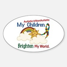 Brighten World 1 (A &Non/A Children) Decal