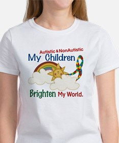 Brighten World 1 (A &Non/A Children) Women's T-Shi