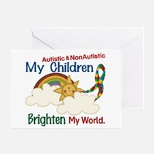 Brighten World 1 (A &Non/A Children) Greeting Card