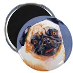 Blue Boy Pug Puppy Magnet