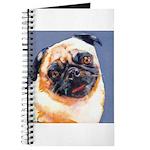 Blue Boy Pug Puppy Journal