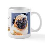 Blue Boy Pug Puppy Mug
