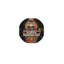 Diversity from Unity: Brahman Mini Button