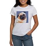 Blue Boy Pug Puppy Women's T-Shirt