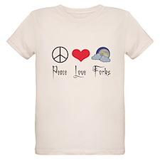 Peace Love Forks T-Shirt