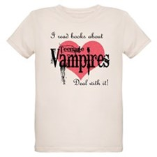 books about teenage Vampires T-Shirt