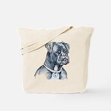 Blue Dog Tote Bag