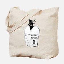 Cat to be Kitten Me Right Meow Tote Bag