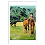 Spring at The Ranch Large Poster