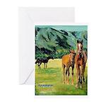 Spring at The Ranch Greeting Cards (Pk of 10)