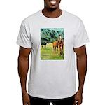 Horses Ash Grey T-Shirt