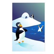 Penguin Party! Postcards (Package of 8)