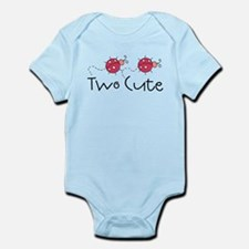 Two Cute Ladybugs Infant Bodysuit