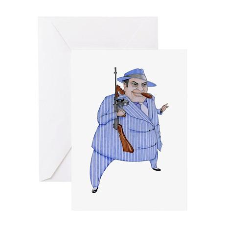 Mob Boss Greeting Card