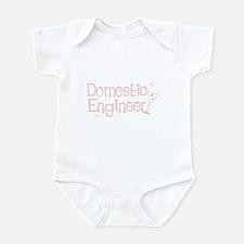 Domestic Engineer Pink Onesie