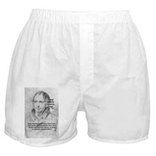 History Lessons Georg Hegel Boxer Shorts