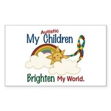 Brighten World 1 (A Children) Rectangle Decal