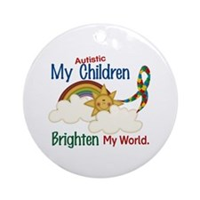 Brighten World 1 (A Children) Ornament (Round)