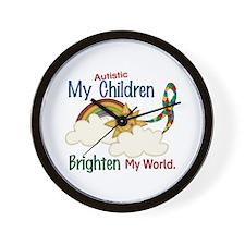 Brighten World 1 (A Children) Wall Clock