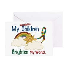 Brighten World 1 (A Children) Greeting Card
