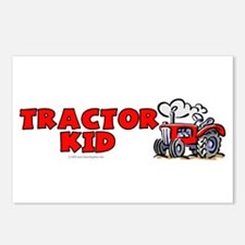 Red Tractor Kid Postcards (Package of 8)